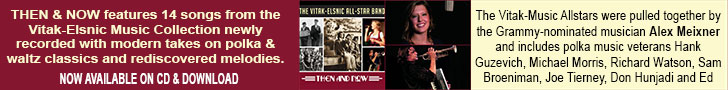 Then and Now CD from the Vitak-Elsnic Music Allstars