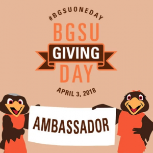 Bowling Green State University #BGSUOneDay